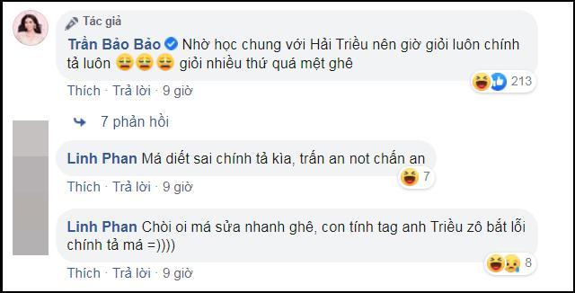 Liên tục bóc phốt chính tả Hải Triều, BB Trần đến ngày bị nghiệp quật-4