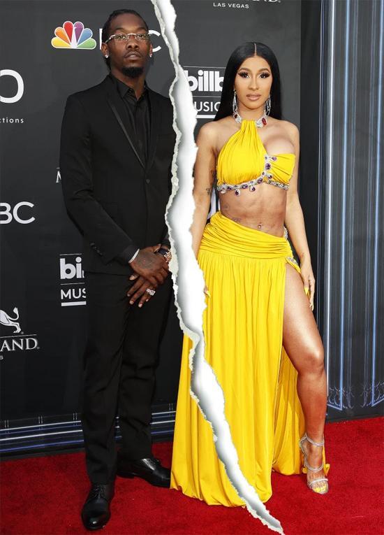 Cardi B ly hôn rapper Offset-1