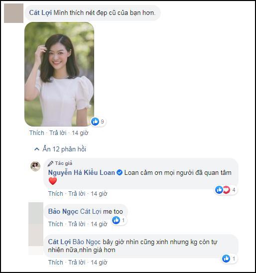 Á hậu Thế giới Việt Nam Kiều Loan bị chê sửa mặt như mấy bà bán kem trộn-4