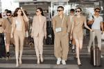 Vũ Khắc Tiệp - Ngọc Trinh bị chỉ trích không đeo khẩu trang ở sân bay