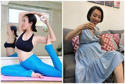 Diễn viên hài Thu Trang lộ vòng 2 lùm lùm như mang bầu lần hai