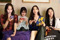 Nhóm nhạc nữ Hàn Quốc bị quấy rối trước ống kính