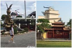 Bóc trần sự thật clip nữ sinh bước ra từ siêu lâu đài, bên cạnh có trực thăng đang đợi