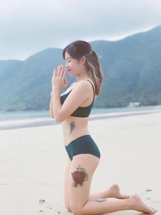 Khoe thêm hình xăm cực lớn, Hoàng Linh chính là nữ MC hổ báo nhất VTV-6