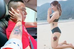 Khoe thêm hình xăm cực lớn, Hoàng Linh chính là nữ MC 'hổ báo' nhất VTV