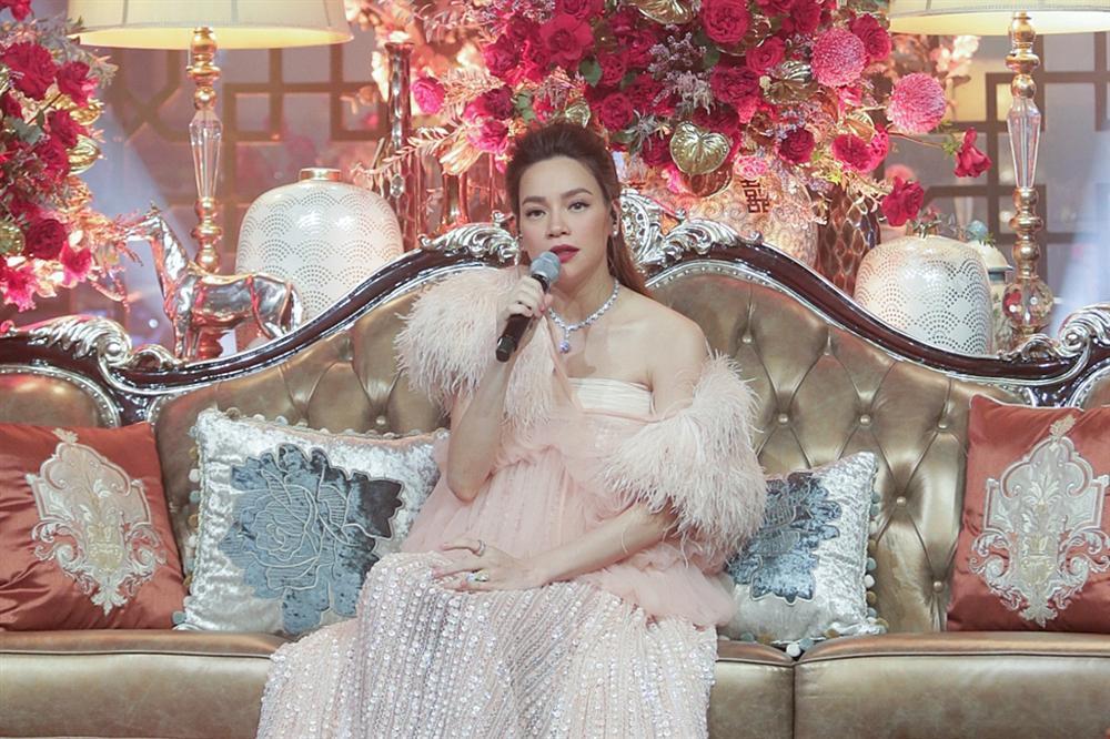 HOT: Hồ Ngọc Hà công khai bụng bầu song thai tháng thứ 7 to đùng đoàng-4