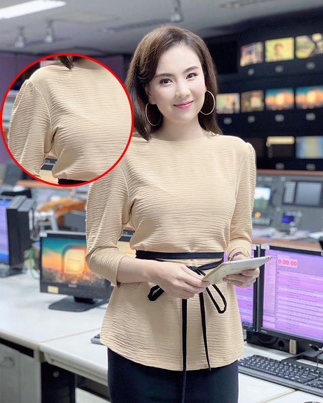 Khéo mặc như Mai Ngọc cũng để viền nội y lấp ló, chị em diện áo mỏng manh phải cẩn thận!-6