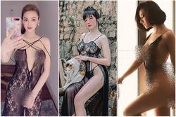 Bộ ba người đẹp Việt thường xuyên 'khủng bố' mạng xã hội bằng ảnh khoe thân