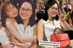 Bạn gái Quang Hải lần đầu khoe mẹ ruột, nhìn qua cứ ngỡ hai chị em