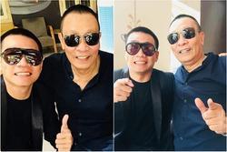'Lão Đại' Wowy gây bão mạng khi chính thức hội ngộ MC Lại Văn Sâm