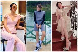 Lệ Quyên 'cưa sừng' với đầm công chúa - Minh Triệu bất ngờ ngọt ngào với set đồ hồng