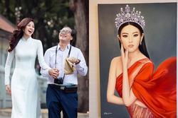 Bố hoa hậu Khánh Vân trổ tài vẽ con gái, kết quả khiến người xem bất ngờ