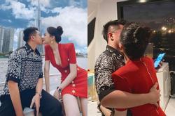 Hương Giang công khai đăng ảnh hôn môi Matt Liu không rời