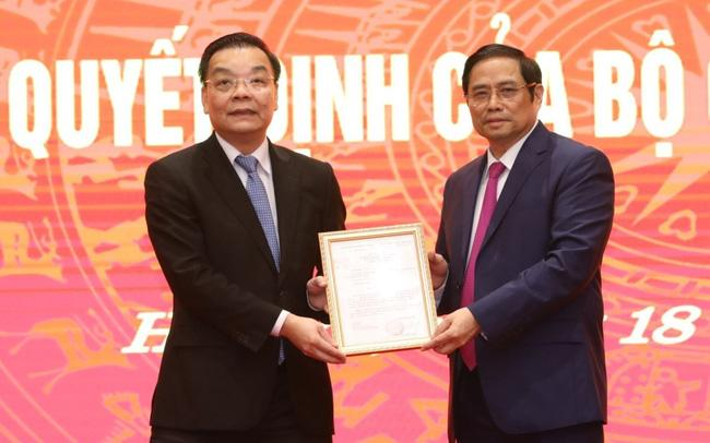 Ông Chu Ngọc Anh nhận quyết định giữ chức Phó Bí thư Thành ủy Hà Nội-1