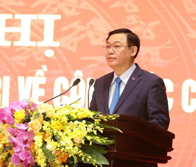 Ông Chu Ngọc Anh nhận quyết định giữ chức Phó Bí thư Thành ủy Hà Nội-3