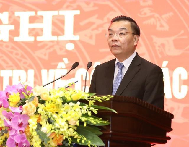 Ông Chu Ngọc Anh nhận quyết định giữ chức Phó Bí thư Thành ủy Hà Nội-4