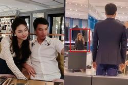 Lâu lâu mới cho chồng đại gia lên sóng, Á hậu Thanh Tú có hành động 'tình bể bình'