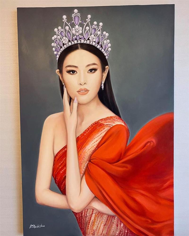 Bố hoa hậu Khánh Vân trổ tài vẽ con gái, kết quả khiến người xem bất ngờ-6