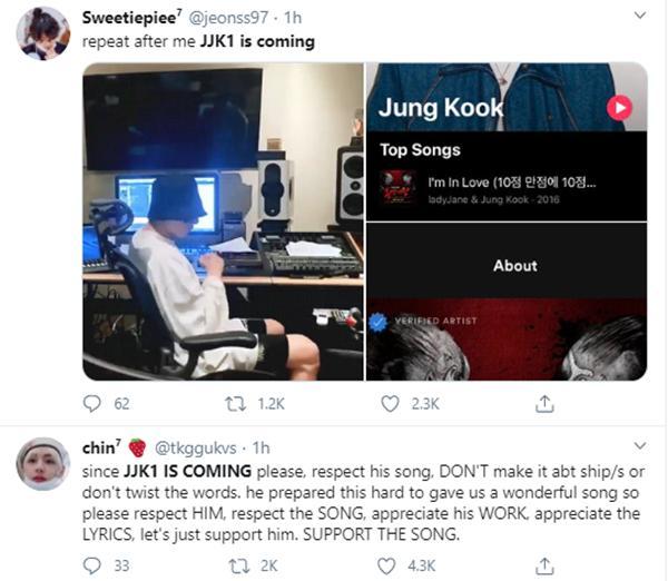 Phát live Youtube vỏn vẹn hơn 2 phút, Jungkook đã gây náo loạn twitter Mỹ-8