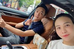 Cường Đô La - Đàm Thu Trang 'đánh quả lẻ' sau khi sinh tiểu công chúa
