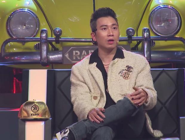 Karik khoe bộ móng ba màu trên Rap Việt, có lẽ nào đang ngầm phát cẩu lương cho fan?-1