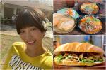 Diệu Nhi đội mưa đi thưởng thức 2 tiệm bánh mì trứ danh Sài Gòn
