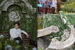 Dàn sao Việt xót xa khi bối cảnh phim 'Gái già lắm chiêu 5' bị bão số 5 tàn phá