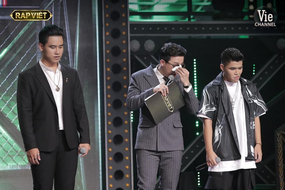 Khóc trên sân khấu Rap Việt, Trấn Thành khẳng định nước mắt tự rơi không cần diễn-4