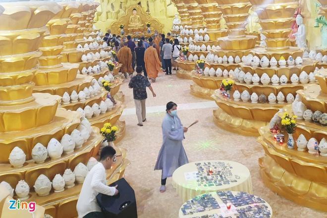 478 hũ tro cốt ở chùa Kỳ Quang 2 được nhận dạng-1
