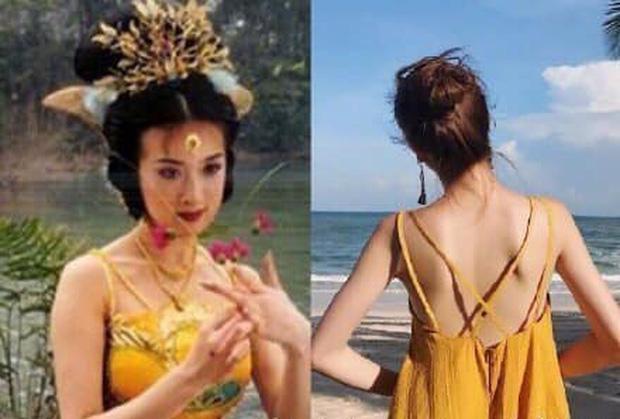 Thì ra Tây Du Ký mở ra loạt trend thời trang khủng: Từ khăn cổ nữ sinh, áo lưới xuyên thấu đến bộ bra đính đá chị em truy lùng-1