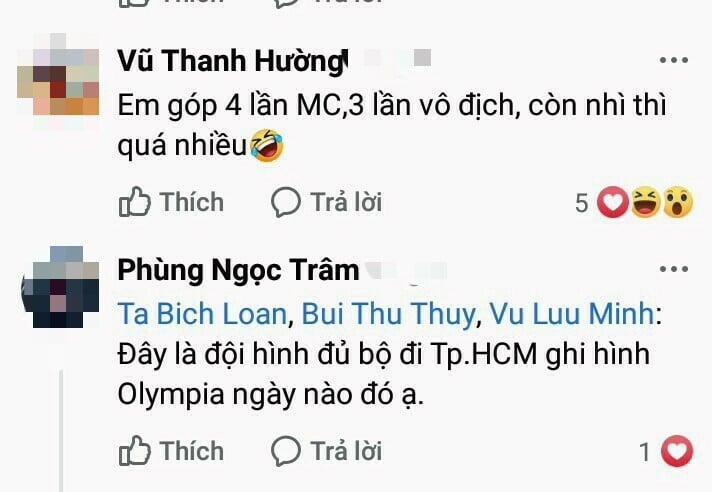 MC Lưu Minh Vũ khoe ảnh những người đồng hành với Đường lên đỉnh Olympia từ ngày đầu tiên-8