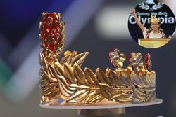 Cận cảnh vòng nguyệt quế bằng vàng thật của tân Quán quân Olympia 2020