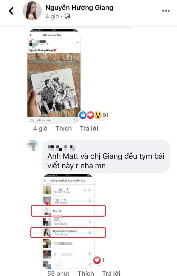 Được tag thẳng vào ảnh vẽ cảnh khóa môi trên du thuyền, Matt Liu - Hương Giang đồng loạt phản ứng tâm đầu ý hợp-2