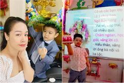 Nhật Kim Anh bức xúc khi bị cô giáo của con trai xem như vô hình