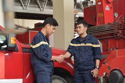 'Lửa ấm': Bộ phim truyền hình đầu tiên về lực lượng cứu hỏa