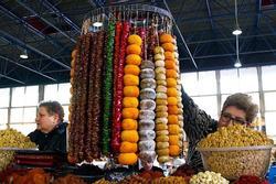 Khu chợ đồ khô nổi tiếng châu Á