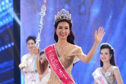 Khoảnh khắc đăng quang của các Hoa hậu Việt Nam