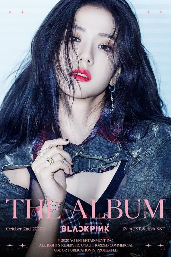Jisoo đẹp đừng hỏi trong ảnh teaser THE ALBUM-1