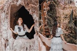 Hóa 'Alice' lạc vào xứ sở thần tiên đầy ma mị ngay giữa lòng Đà Lạt