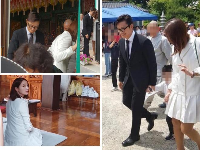 Lần hiếm hoi Lee Min Jung nói về Lee Byung Hun sau scandal ngoại tình-4