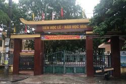 Vụ nữ sinh lớp 9 nghi bị bạn cưỡng bức có thai ở Thanh Hóa: Hiệu trưởng thừa nhận 'bài học sâu sắc'