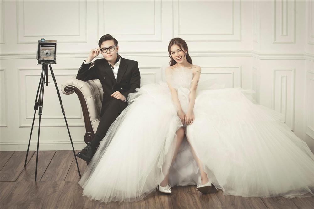 Khó rời mắt với bộ ảnh cưới giờ mới hé lộ của con gái Minh Nhựa-4