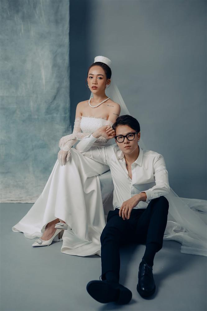 Khó rời mắt với bộ ảnh cưới giờ mới hé lộ của con gái Minh Nhựa-8