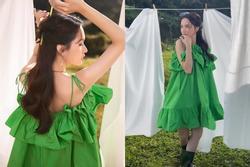 Vừa hẹn hò với Matt Liu, Hương Giang đã đụng ngay váy giấu bụng bầu của Hà Hồ