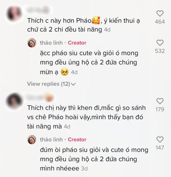 Bị so sánh với Pháo, TLinh (Rap Việt) bất ngờ lên tiếng, còn khen ngợi nữ rapper chương trình đối thủ-4