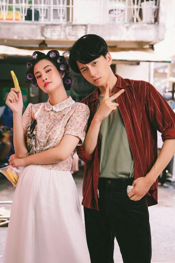 Làm cameo cho MV Ngô Kiến Huy, Đông Nhi lộ ảnh chụp lén khác khác ảnh qua app-1