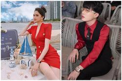 Đặc điểm nhận dạng nhà giàu: Hương Giang - Jack mặc đồ đỏ - đeo đồng hồ tiền tỷ