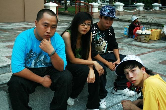 Phong cách hiphop nổi loạn của Suboi cách đây 10 năm-2