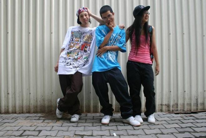 Phong cách hiphop nổi loạn của Suboi cách đây 10 năm-3