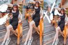 Nhờ dân mạng photoshop ảnh, bạn gái Quang Hải nhận loạt hình cười ra nước mắt